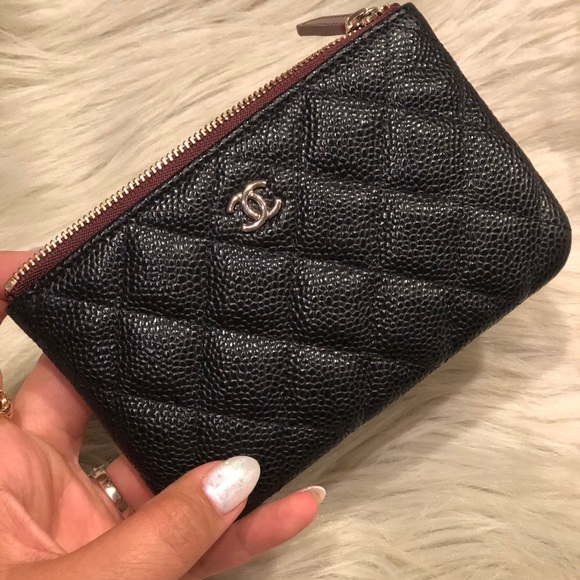 c420fd0beabd Bags   Authentic Bnwt Chanel Mini O Case Pouch Wghw   Poshmark